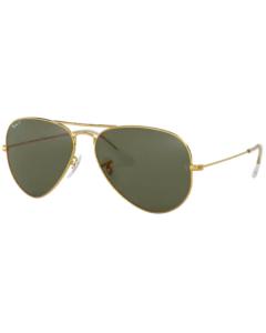 Okulary przeciwsłoneczne Ray-Ban® 3025 001/58 58 Aviator z polaryzacją